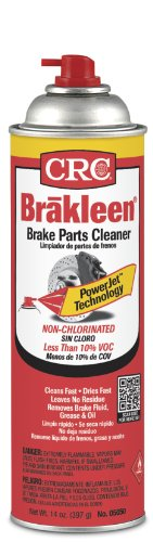 CRC 05050 Brakleen Non-Chlorinated Brake Parts Cleaner, 14 Wt Oz 12/EA
