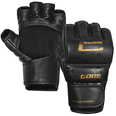 CORE-SPORTS-MMA-Gloves-for-Men-Women-Youth-Grappling-Kids-Martial-Arts-Sparring-Punching-Bag-Cage-Fight-Mitts-Kickboxing-UFC-Combat-Muay-Thai-Training-Gloves