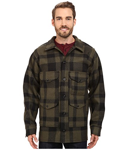 Cruiser Jacket Mackinaw (Filson Mackinaw Cruiser Jacket - Extra Long Otter Green/Black 38, 40 (42))