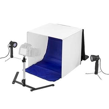 Amazon.com : Flashpoint De-Shadow Box, Table Top Photo Studio In-A ...