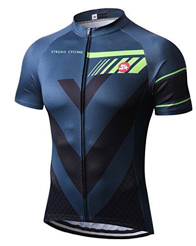 (Mengliya MR Strgao Men's Cycling Jersey Bike Short Sleeve Shirt Size)