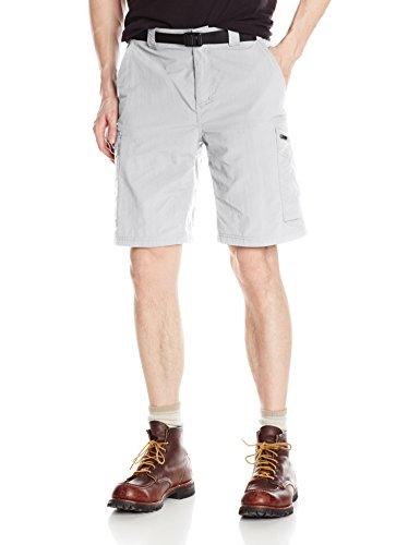Columbia Sportswear Men's Big and Tall Silver Ridge Cargo Shorts, Columbia Grey, 34 x 10