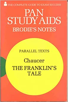 Brodie's Notes on Chaucer's
