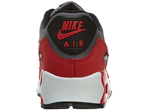 Nike Air Max 90 (GS) Zapatillas de running, Niños Rojo