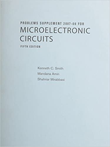 Microelectronic circuits by adel s. Sedra.