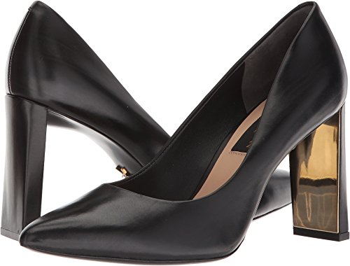 Donna Karan Women's Criss Mid Pump Black 10 M US