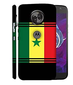 ColorKing Football Senegal 06 Multicolor shell case cover for Motorola Moto X4