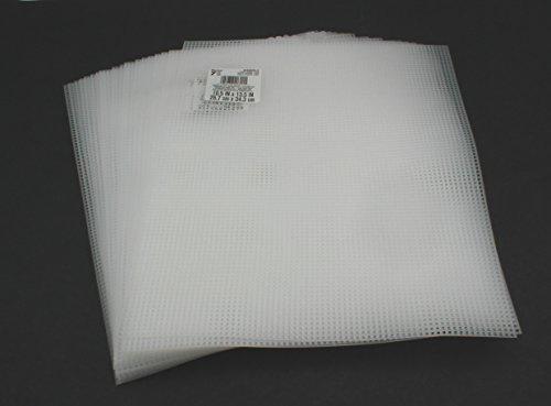 7 mesh clear plastic canvas sheet bulk 10 5 x 13 5 inch 50 for Clear plastic sheets for crafts