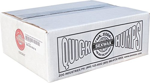 Quick Humps 3x Green - Soft - 100/Case Surf Wax by Sex Wax
