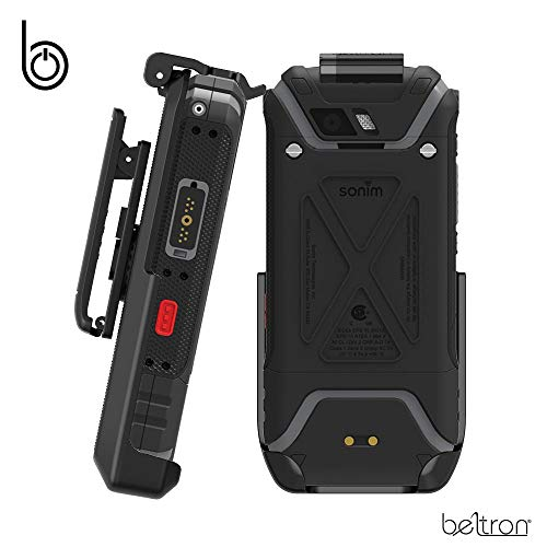 - Sonim XP5S Belt Clip, Heavy Duty Belt Holster with Swivel Clip for Sonim XP5S (AT&T FirstNet Sprint XP5800) Features: Secure Fit & Quick Release Latch (Durable, Reliable and Lightweight)