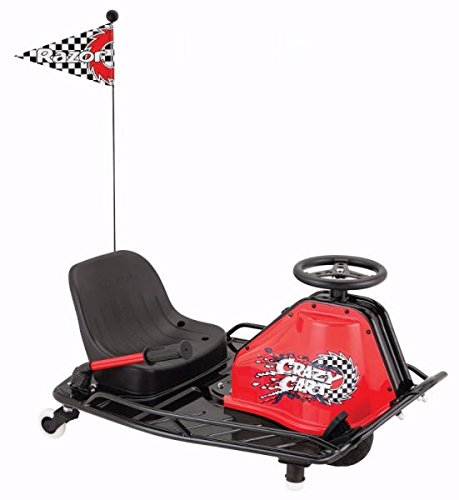 Razor Crazy Cart - Black (Go Karts For 10 Year Olds For Sale)