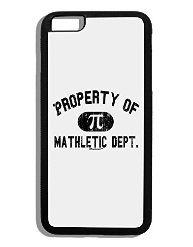 TooLoud Mathletic Department Distressed Black Dauphin iPhone 6 Plus Cover