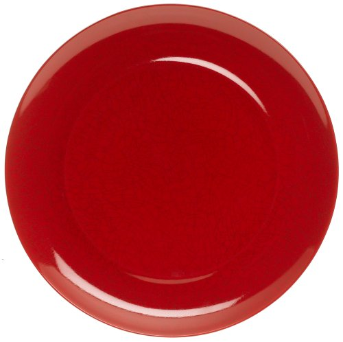 Mikasa Pure Red fine china red crackle charger & service plate