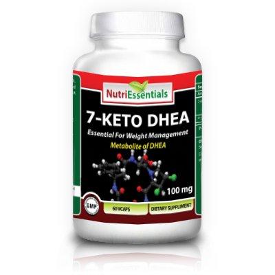 Nutri Essentials 7-Keto DHEA Veg Capsules, 100 mg, 60 Count