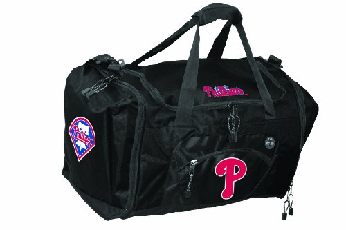 The Northwest Company MLB Philadelphia Phillies Roadblock Duffle Bag, ()