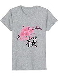 Sakura Cherry Blossoms with Japanese Kanji Shirt
