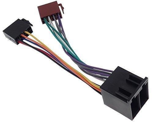 1:1 KFZ ISO Verlängerung Radio Stecker Kabel Auto Adapter Car Auto ...