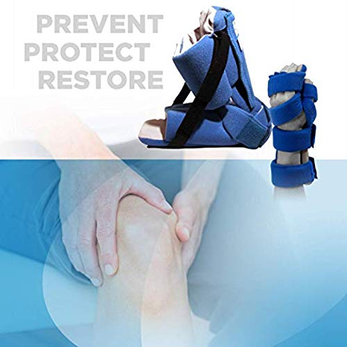Restorative Medical Hand Brace | Resting Hand & Wrist Night Splint w/Flo-Form - Corrective, Supportive Brace for Comfort & Pain Relief by Restorative Medical (Image #3)