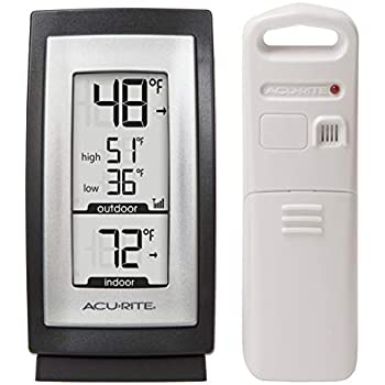 AcuRite 00831A2 Digital Thermometer with Indoor / Outdoor Temperature