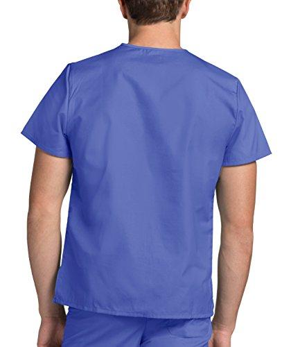 Blue Lavoro Unisex Infermiera ceil Ospedale Superiore Adar Parte Blu Camice Da Mediche Uniformi 7xBqwzFnZf