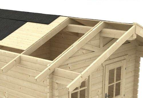 Cabaña carga de nieve de madera elevador a 2, 00 KN/M² para ...