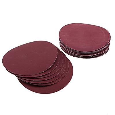 """LANDGOO 100 Pack 6"""" Sanding Discs Sandpaper Hook and Loop Pads 80/100/180/240/600/800/1000/1200/2000/3000 Assorted Grits"""