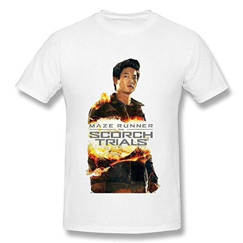 The Scorch Trials Maze Runner Minho T Shirt For Men White S