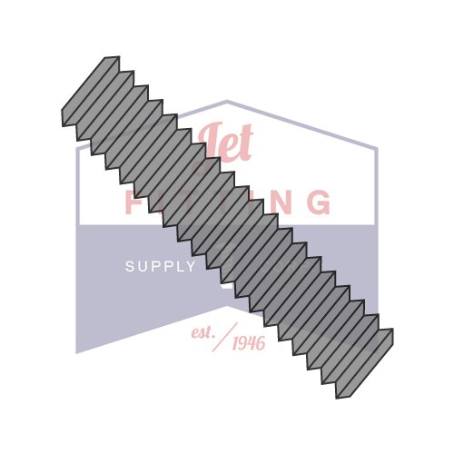 7/8-9 x 5 1/4 ASTM A193 ASME B16.5 B-7 B7 Stud Continuous Thread Plain (Quantity: 40 pcs) by Jet Fitting & Supply Corp
