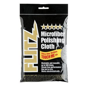 Flitz Microfiber Polishing Cloth - 16'''' x 16'''' - Single Bag