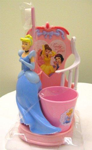 Smile Toothbrush Holder - Disney Cinderella Princess - Splendid Smile Set - Toothbrush Holder, Toothbrush & Rinse cup