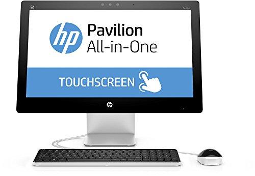 HP Pavilion (23-q252ng) 58,4 cm (23 Zoll / FHD IPS Touchscreen) All in One Desktop PC (Intel Core i5-6400T, 8GB RAM, 1 TB SSHD, Intel HD-Grafikkarte 530, Windows 10 Home 64), Weiß