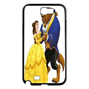 JenneySt Phone CaseFashion Colorful Beauty and The Beast Design For Samsung Galaxy Note 2 Case -CASE-5