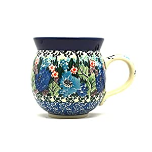 Polish Pottery Mug – 11 oz. Bubble – Unikat Signature U4572