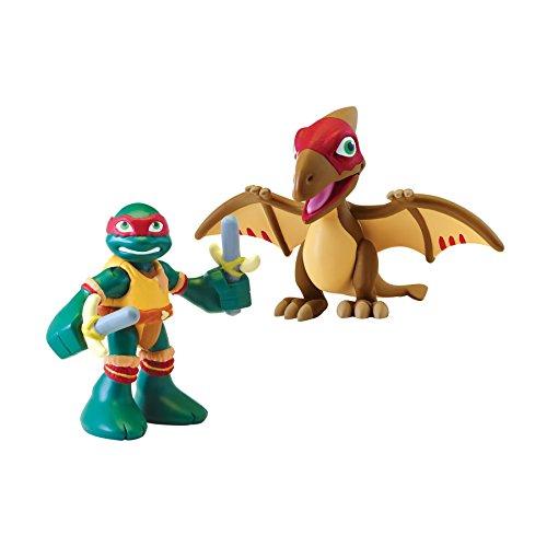 Teenage Mutant Ninja Turtles Pre-Cool Half Shell Heroes Raphael with Pteranodon Figure -