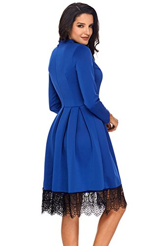 Kleider Tag Festliche Stylische Kurz – Für Blau Jeden nOmN0wvPy8