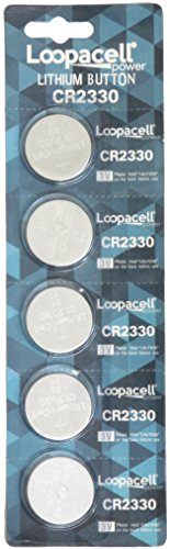- Loopacell 2330 CR2330 3V Lithium Battery x 5 Batteries