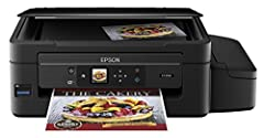 The Expression ET-2550 Eco Tank wireless all-in-one printer comes loaded and ready with up to 2 years of ink in the box(1). That's a huge amount of ink - enough to print up to 4000 black/6500 color pages(2), and equivalent to about 20 ink car...