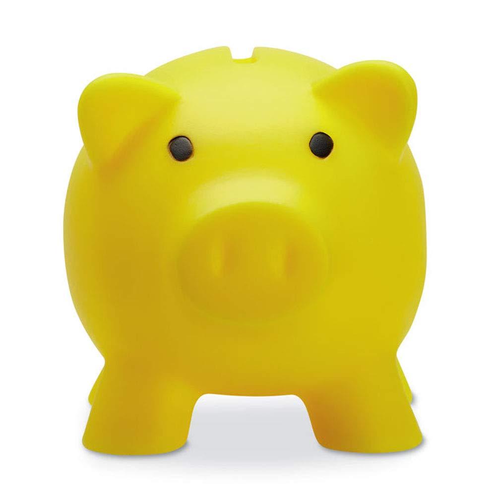 noTrash2003 Sparschwein Sparb/üchse Geld sparen Dekoration Schwein Schweinchen Piggy Miss Verch Farben Orange