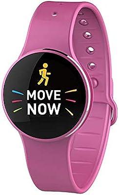 MyKRonoz Zecir Activity Tracker for Smartphone rose pink Size:One ...