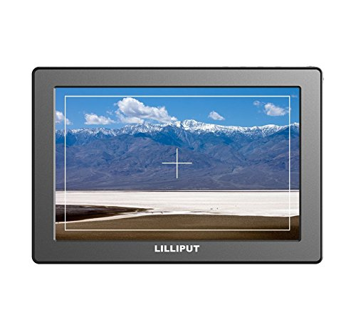 LILLIPUT 7'' FULL HD A7 CAMERA-TOP MONITOR 1920x1200, Full HD resolution, 500cd/m² high brightness, 1000:1 high contrast, Peaking, pixel zoom with LP-E6 Battery and charger