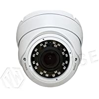 VIEWISE Full HD 1080P 2Megapixel Dome Camera, Indoor / Outdoor Surveillance Security Camera Video Monitoring Night Vision 4-in-1 HD-TVI, AHD, CVI, CVBS Eyeball Turret Camera Varifocal Lens
