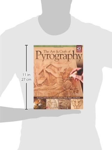 The Art & Craft of Pyrography: Drawing with Fire on Leather, Gourds, Cloth, Paper, and Wood (Fox Chapel Publishing) More Than 40 Patterns, Step-by-Step Projects, and Expert Advice from Lora S. Irish by Design Originals (Image #8)