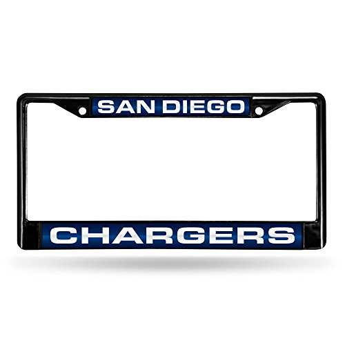 Diego Chargers Laser Black License product image