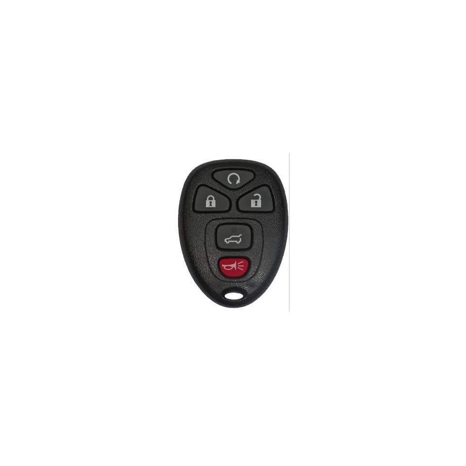 2007 2009 Chevy Tahoe Keyless Entry Remote Fob Clicker With Free Do It Yourself Programming+ Free eKeylessRemotes Guide