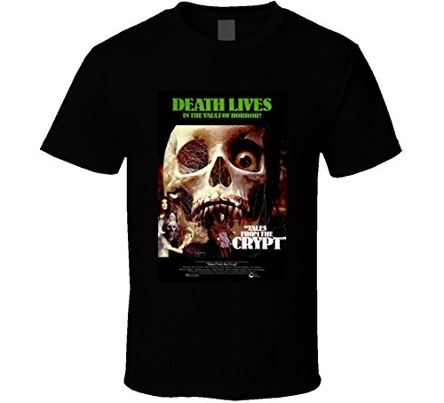 - Tales from the Crypt Cool Vintage 70's Movie Poster T Shirt XL Black