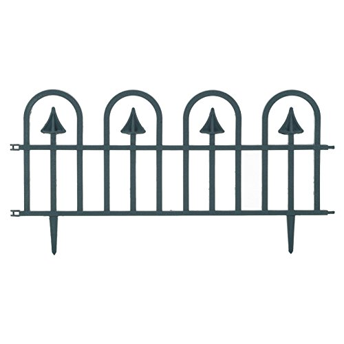 PRO Garden Flexible Garden Lawn Edging Grass Pond Fence Picket Border Plastic Wall (Edging Pro Lawn)