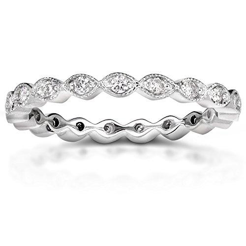 Diamond Eternity Band 1/3 carat (ctw) in 14k White Gold
