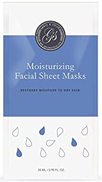 Honey Facial Sheet Masks (Set of 6) - For Softer, Youthful Looking Skin - Soothing, Rejuvenating & Relaxing - Intensive, Fresh and packed with moisture - Best Alternative to Korean Masks Grace & Stella Co.