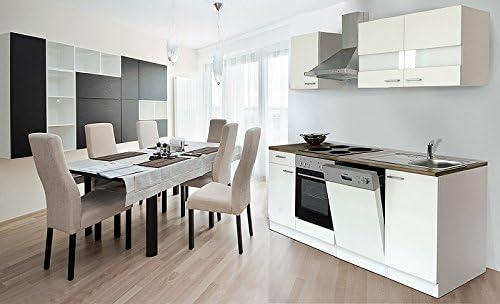 respekta KB220ESW- Bloque de Cocina (220 cm Color Blanco ...