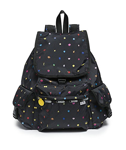 Signature Drawstring Handbag - LeSportsac Mr Men Little Miss Voyager Backpack, Happyland
